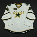 Brunnstrom, Fabian<br>White Set 1<br>Dallas Stars 2008-09<br>#96 Size: 58