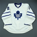 Mayers, Jamal<br>White Set 2<br>Toronto Maple Leafs 2009-10<br>#21 Size: 58