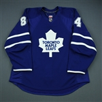 Grabovski, Mikhail<br>Blue Set 3<br>Toronto Maple Leafs 2009-10<br>#84 Size: 54