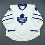 Gunnarsson, Carl * <br>White Set 3<br>Toronto Maple Leafs 2009-10<br>#36 Size: 56
