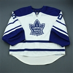Gustavsson, Jonas<br>Third Set 2<br>Toronto Maple Leafs 2009-10<br>#50 Size: 58G