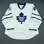 Lundmark, Jamie<br>White Set 3<br>Toronto Maple Leafs 2009-10<br>#16 Size: 56
