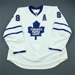 Komisarek, Michael<br>White Set 1 w/A<br>Toronto Maple Leafs 2009-10<br>#8 Size: 58+