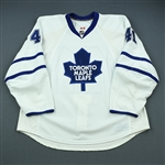 Kulemin, Nikolai<br>White Set 1<br>Toronto Maple Leafs 2009-10<br>#41 Size: 58