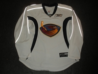 Havelid, Niclas<br>White Practice Jersey<br>Atlanta Thrashers 2007-08<br>#28 Size: 56