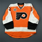 Bartulis, Oskars<br>Orange - Stanley Cup Final<br>Philadelphia Flyers 2009-10<br>#3 Size: 56