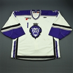 Bridges, Bryan<br>White Set 1<br>Reading Royals 2008-09<br>#1 Size: 58G