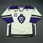 Cooper, Joe<br>White Set 1<br>Reading Royals 2008-09<br>#27 Size: 56