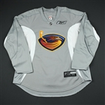 Reebok Edge<br>Gray Practice Jersey<br>Atlanta Thrashers 2008-09<br>#N/A Size: 56
