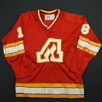 MacRae, Jim / Rota, Darcy<br>Red<br>Atlanta Flames 1978-79<br>#18 Size:Large