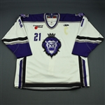 Herneisen, Matt<br>White Set 1 (w/C removed)<br>Reading Royals 2008-09<br>#21 Size: 56