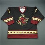 Jorgensen, Jim<br>Black Set 1<br>Gwinnett Gladiators 2008-09<br>#7 Size: 52