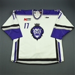 Bouchard, Danick<br>White Set 1<br>Reading Royals 2009-10<br>#17 Size: 56