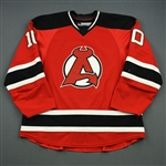 Josefson, Jacob<br>Red<br>Albany Devils 2012-13<br>#10 Size: 56