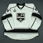 Andreoff, Andy<br>White  - Stanley Cup Final Set 1 - Game-Issued<br>Los Angeles Kings 2013-14<br>#64 Size: 58