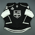 Fraser, Colin<br>Black  - Stanley Cup Final Set 1 - Warmup Only<br>Los Angeles Kings 2013-14<br>#24 Size: 58