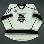 Fraser, Colin<br>White  - Stanley Cup Final Set 1 - Warmup Only<br>Los Angeles Kings 2013-14<br>#24 Size: 58