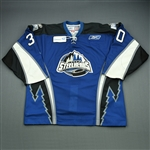 DeVergilio, Kevin<br>Blue Set 1<br>Idaho Steelheads 2009-10<br>#30 Size: 56