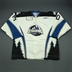 DeVergilio, Kevin<br>White Set 1<br>Idaho Steelheads 2009-10<br>#30 Size: 56