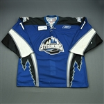 Kushniruk, Brandon<br>Blue Set 1<br>Idaho Steelheads 2009-10<br>#11 Size: 56