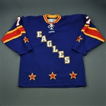 Forney, Michael<br>Blue Skills Competition<br>All Star 2012-13<br>#7 Size: 54
