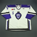 Fletcher, Scott<br>White Set 1<br>Reading Royals 2009-10<br>#5 Size: 58
