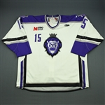 Langdon, Scott<br>White Set 1<br>Reading Royals 2009-10<br>#15 Size: 58