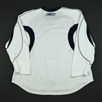 Reebok Edge<br>White Practice Jersey<br>Vancouver Canucks 2007-08<br>#N/A Size: 60