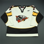 Jozsa, Jason<br>White Set 1<br>Cincinnati Cyclones 2009-10<br>#2 Size: 56
