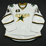 Boucher, Philippe<br>White Set 1<br>Dallas Stars 2008-09<br>#43 Size: 58