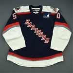 Jamtin, Andreas<br>Navy Set 1<br>Hartford Wolf Pack 2008-09<br>#50 Size: 56