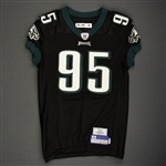 McDougle, Jerome<br>Black Alternate<br>Philadelphia Eagles 2006<br>#95 Size: 48-O