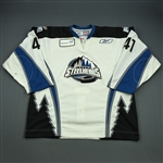 Bembridge, Garrett<br>White Set 1<br>Idaho Steelheads 2008-09<br>#41 Size: 56