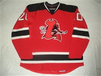 Murphy, Ryan (J.)<br>Red Set 1 (A removed)<br>Lowell Devils 2007-08<br>#20 Size: 58