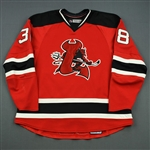 Ruggeri, Rosario<br>Red Set 1<br>Lowell Devils 2007-08<br>#38 Size: 58