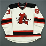 Ruggeri, Rosario<br>White Set 1<br>Lowell Devils 2007-08<br>#38 Size: 58