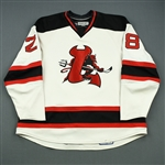 Zimmerman, Sean<br>White Set 1<br>Lowell Devils 2007-08<br>#28 Size: 58