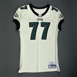 Ramsey, LaJuan<br>White - Rookie Season<br>Philadelphia Eagles 2006<br>#77 Size: 52-O