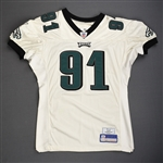 Rayburn, Sam<br>White<br>Philadelphia Eagles 2006<br>#91 Size: 04-52 PBS