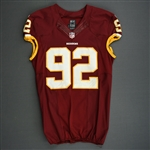 Baker, Chris<br>Burgundy<br>Washington Redskins 2013<br>#92 Size: 46 LINE