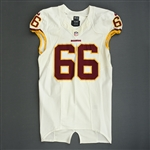 Chester, Chris<br>White<br>Washington Redskins 2013<br>#66 Size: 46 LINE