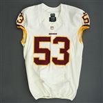 Compton, Will<br>White<br>Washington Redskins 2013<br>#53 Size: 46 L-BK