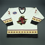 Fritsch, Jamie<br>White Set 1<br>Gwinnett Gladiators 2009-10<br>#2 Size: 58