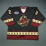 Galivan, Patrick<br>Black Set 1<br>Gwinnett Gladiators 2009-10<br>#22 Size: 54