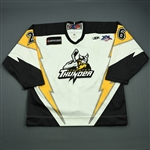 Geisler, Beau<br>White Set 1<br>Stockton Thunder 2007-08<br>#26 Size: 56