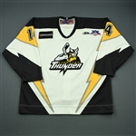 Lachance, Louis-Philippe<br>White Set 1<br>Stockton Thunder 2007-08<br>#14 Size: 54