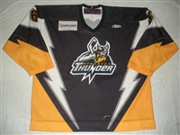 Hrabel, Josef<br>Black Set 1<br>Stockton Thunder 2008-09<br>#6 Size:56