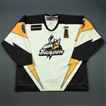 Hrabel, Josef<br>White Set 1<br>Stockton Thunder 2008-09<br>#6 Size: 56