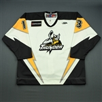 Lerg, Bryan<br>White Set 1<br>Stockton Thunder 2008-09<br>#13 Size: 54
