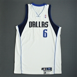 Daniels, Marquis<br>White Playoffs (Rounds 1 & 2)<br>Dallas Mavericks 2005-06<br>#6 Size: 52+6